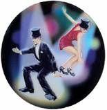 "Holographic Mylar - 2"" Jazz Dance"