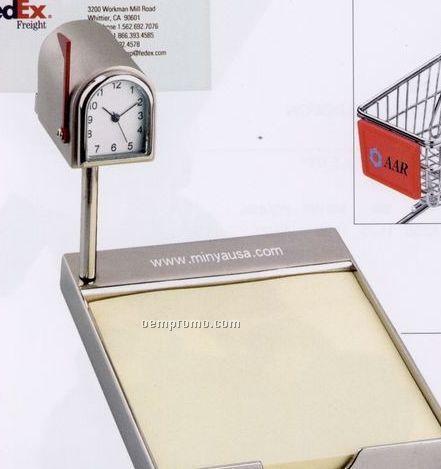 Metal Mail Box Clock