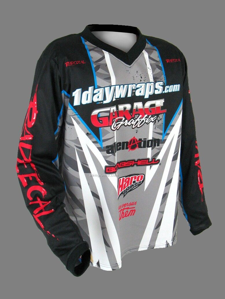 Moto Long Sleeve Jersey