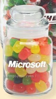 Pistachios In 5 Oz. Round Glass Candy Jar