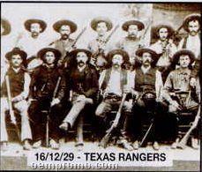 "11""X14"" Early American Tin Type Print - Texas Rangers"