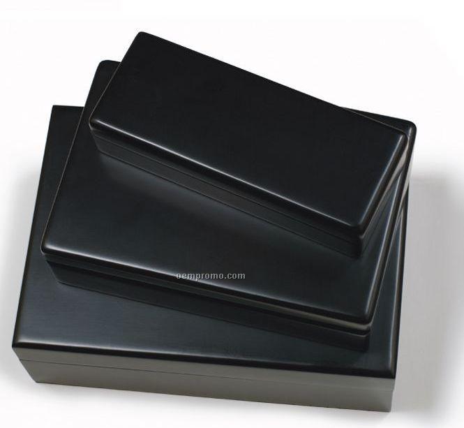 Black Matte King's Corkscrew Box- No Imprint