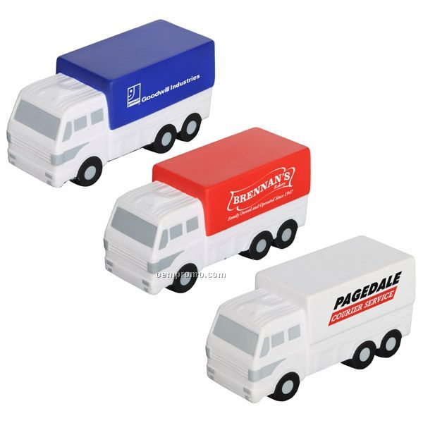 Delivery Truck Squeeze Toy