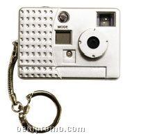 Key Chain Digital Cameras - Silver