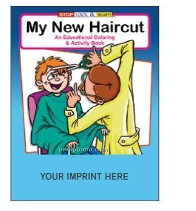 My New Haircut Coloring Book Fun Pack