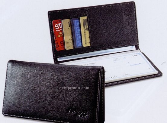 Product description delivery information quantity calculator related - Signature Leather Checkbook Cover China Wholesale