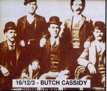 """11""""X14"""" Early American Tin Type Print - Butch Cassidy"""