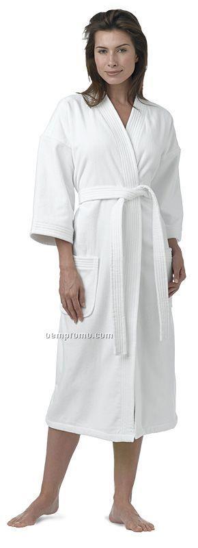 """48"""" 4x Large Luxury Hotel Velour Kimono Robe (4xl)"""
