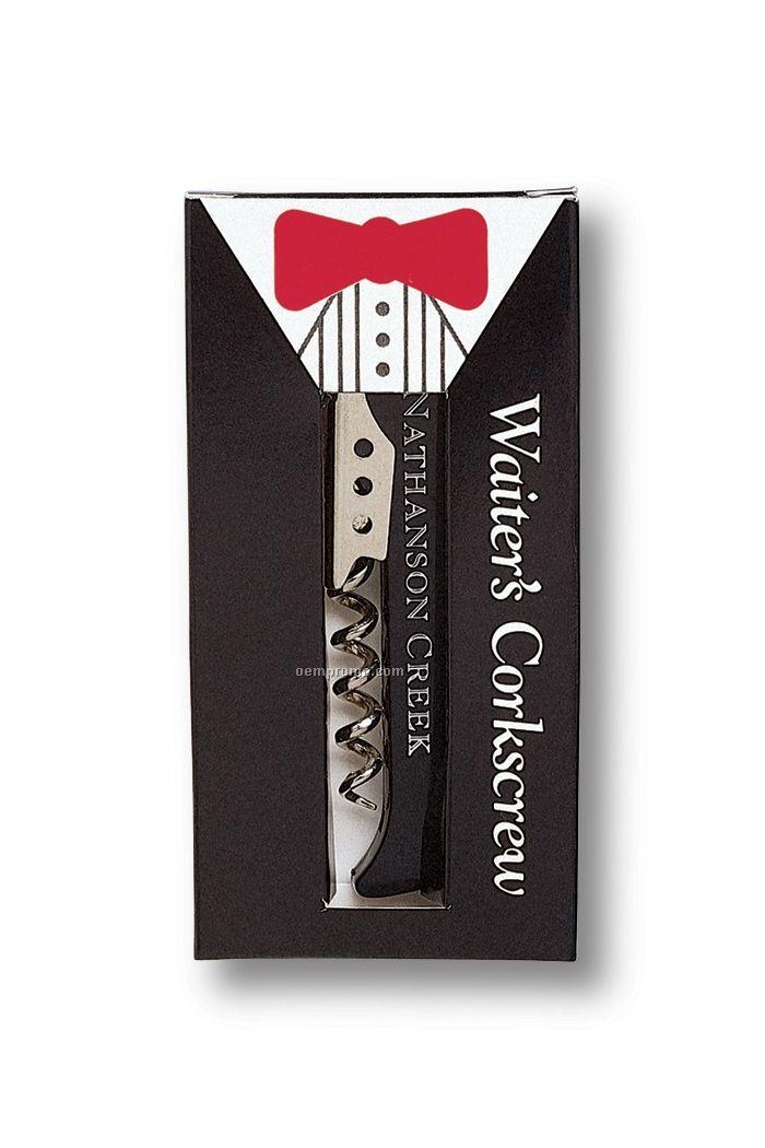 Tuxedo Box For Waiter's Corkscrew