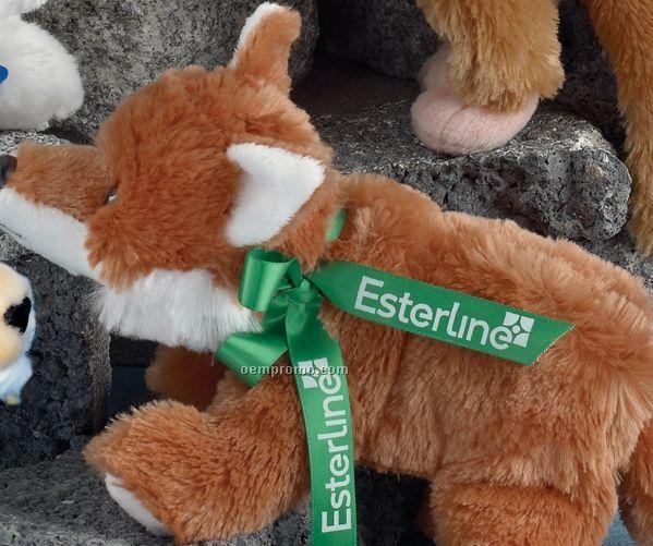 "8"" Floppets Fox Stuffed Animal"