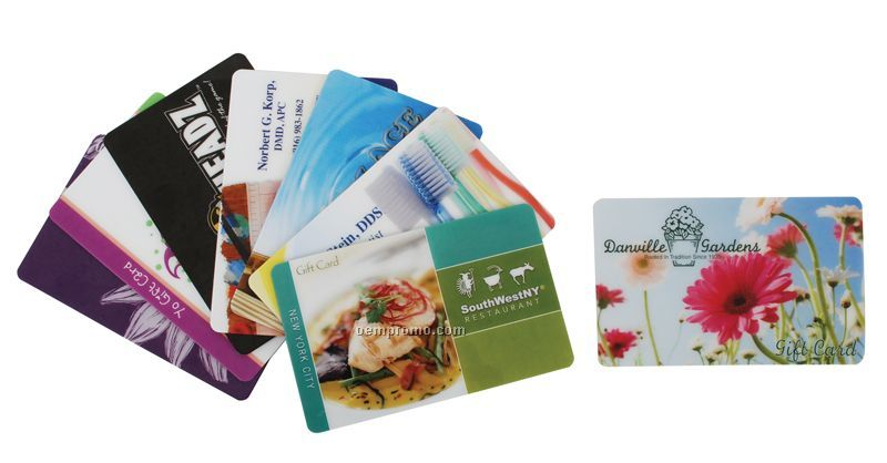 Custom Barcoded Gift Cards Or Hotel Keys
