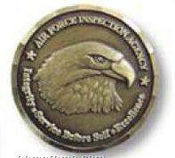 Die Struck Challenge Coin / Medallion (1 3/4