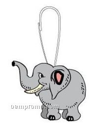 Elephant Zipper Pull