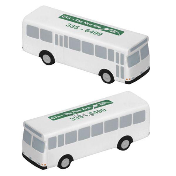 Metro Bus Squeeze Toy