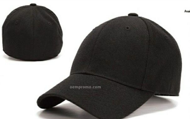 Pro-style Wool Blend Fitted Cap (6 3/4 To 7 7/8)