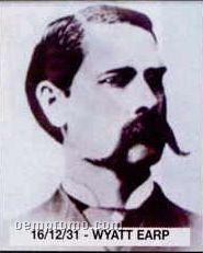 "11""X14"" Early American Tin Type Print - Wyatt Earp"