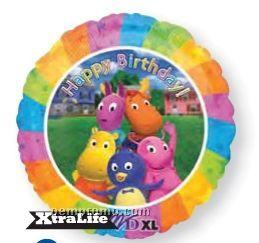 "18"" Backyardigans Happy Birthday Balloon"