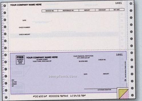 Accounts Payable Check - Daceasy Compatible (2 Part)