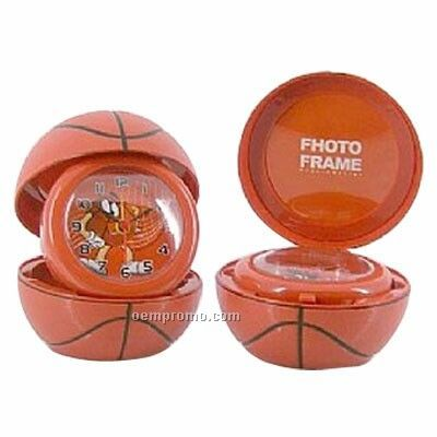 Basketball Alarm With Photo Frame