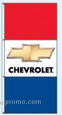 Double Face Dealer Interceptor Drape Flags - Chevrolet