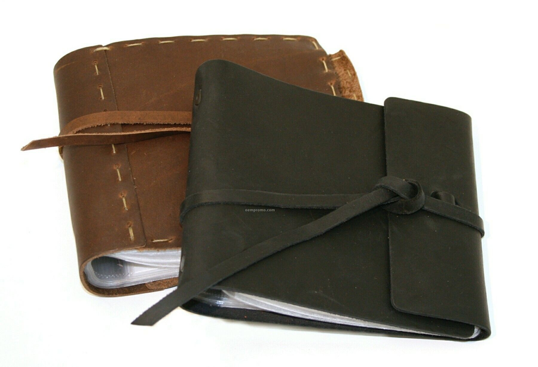 Hand Stitched Leather CD/ DVD Case