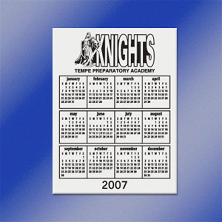 "Schedule Magnet (3""X4"")"