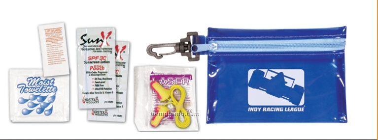 Clip 'n Go Race Kit W/ Sunblock & Lip Balm - 1 Color