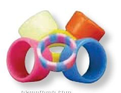 Silicone Finger/ Thumb Rings - Recessed