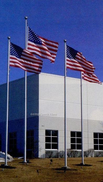 American Patriot Series Aluminum 30' Flagpole