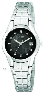Citizen Ladies' Eco Drive Stainless Steel Dress Watch