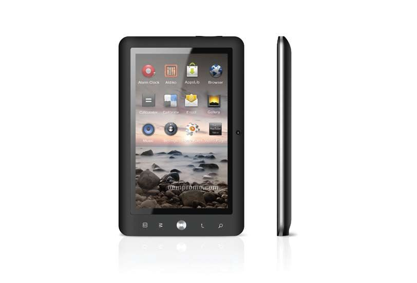 "7"" Mid With Android Os 2.3, 4gb Flash Memory & Wi-fi"