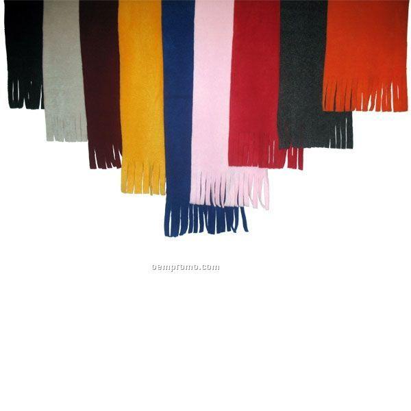 "16 Oz. Tassel Fleece Scarves / 60""X9.5"""