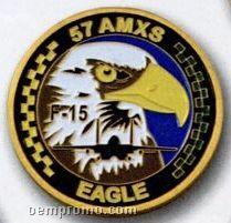 """Die Struck 1 3/4"""" Coin"""