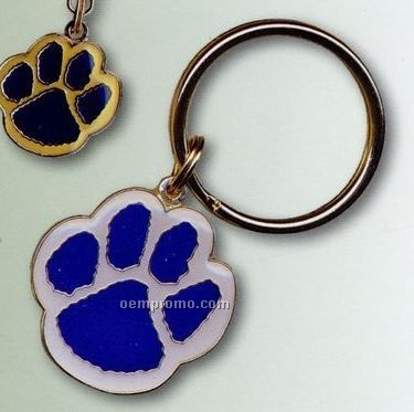 "Enamel Charms & Key Tags With Jump Ring (3/4"")"