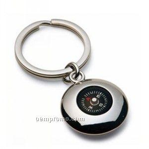 Keytag W/Compass