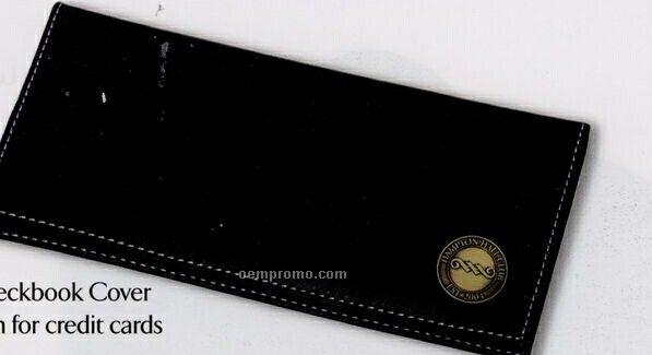 Leatherette Checkbook Cover