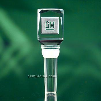 Rectangular Crystal Wine Stopper