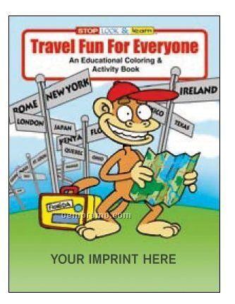 Travel Fun For Everyone Coloring Book Fun Pack