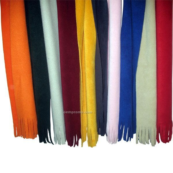 "16 Oz. Tassel Fleece Scarves / 62""X6"""