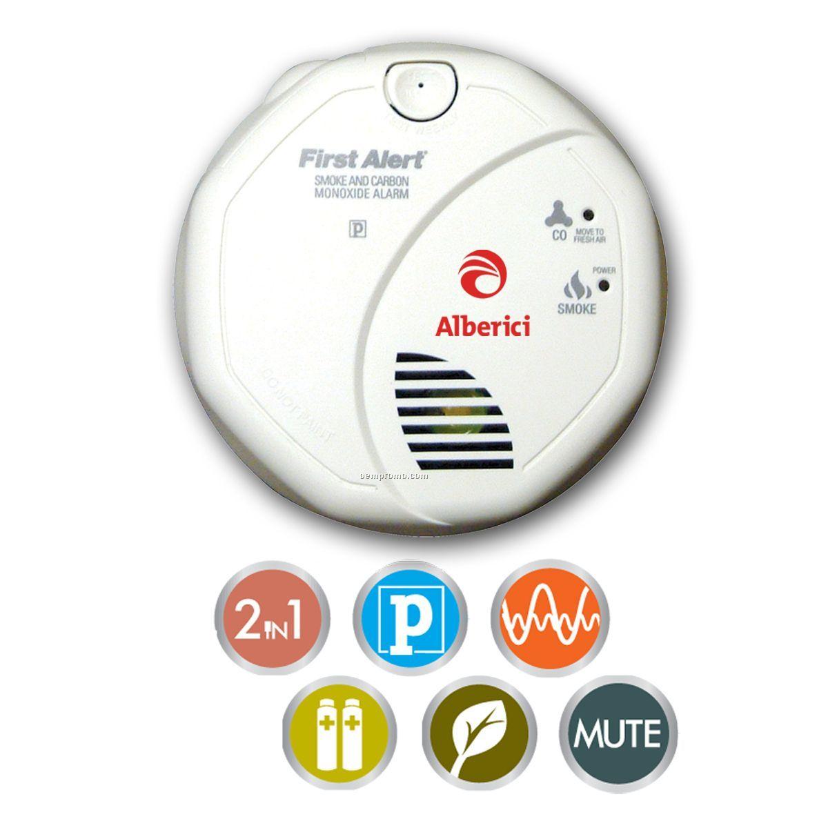 Alarm Co & Smoke Combo AA Batt