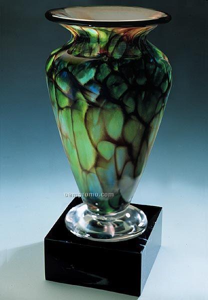 """Jade Monarch Athena Vase (3.75""""X8"""")"""