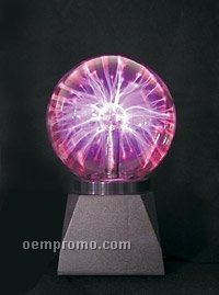 "Light Up Plasma Ball LED Lamp (5"")"