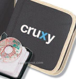 """Q-tees Poly 24 CD Holder (6""""X6""""X1-3/4"""")"""