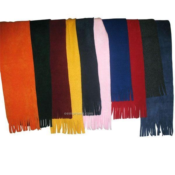 "16 Oz. Tassel Fleece Scarves / 45""X6"""
