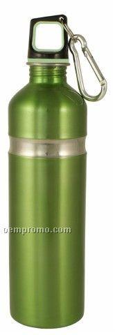 26.5 Oz/750 Ml Stainless Kodiak Bottle W/Carbineer