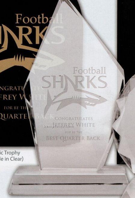 Diamond Glass Trophy