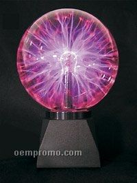 "Light Up Plasma Ball LED Lamp (8"")"