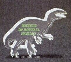 Acrylic Paperweight Up To 12 Square Inches / Dinosaur