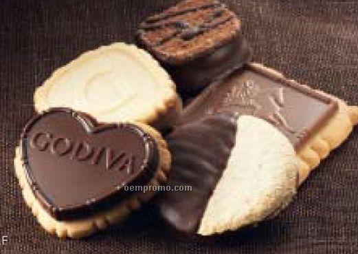 Godiva 36 Piece Biscuit Gift Tin