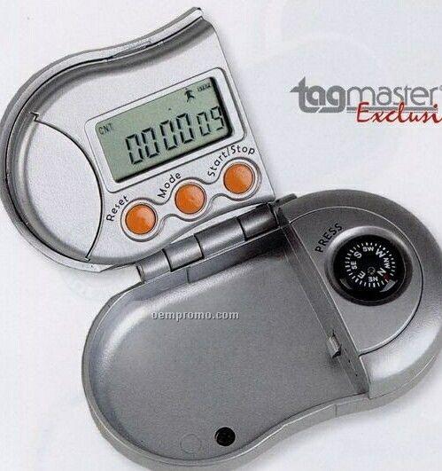 Pedometer W/ Compass